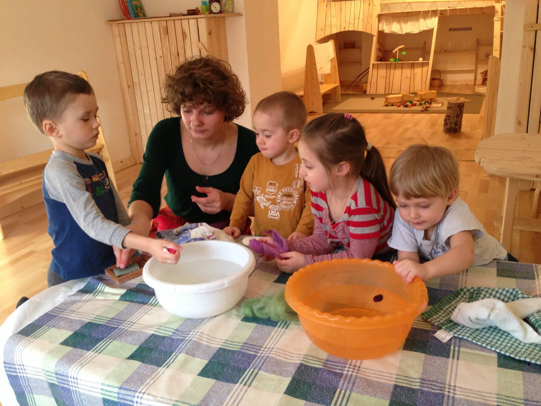 Вакансии частный детский сад сергиев посад