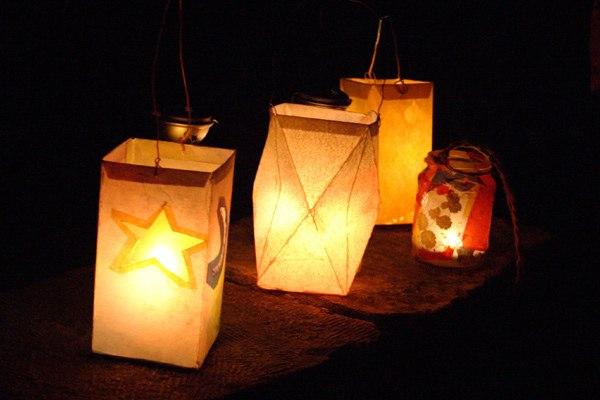 Как сделать фонарики на праздник фонариков