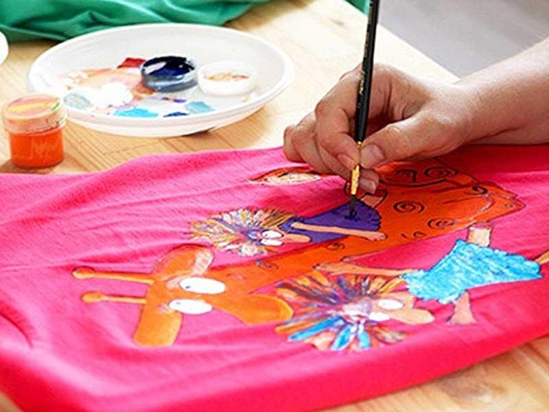 Мастер класс рисования красками